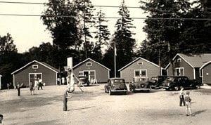Stiefvater's cottages 1933- four buildings